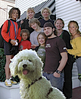 Photo of our GorgeousDoodles family